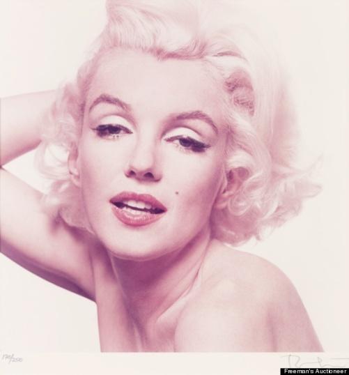 soft pink marilyn monroe