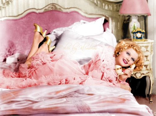 jean Harlow in pink