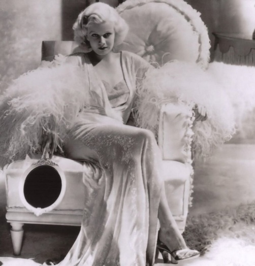 jean harlow in white