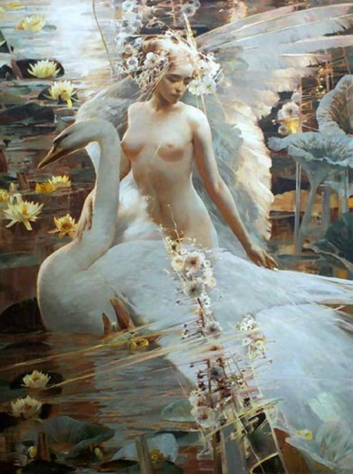 Alexander Veronkov swan girl