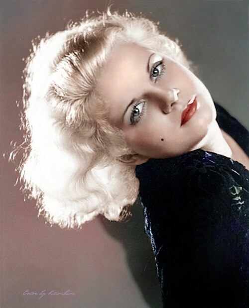 jean harlow face